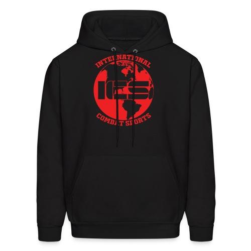 Red ICS Logo - Men's Hoodie
