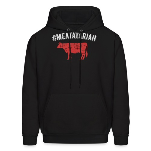 Meatatarian Print - Men's Hoodie