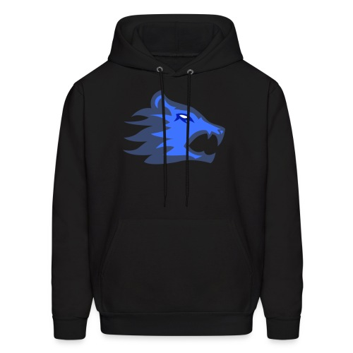 The Exodium Wolf [BLUE] - Men's Hoodie