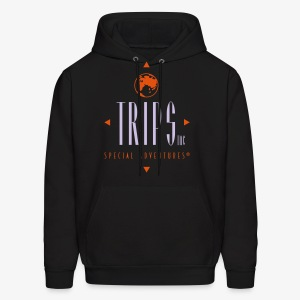 Original Trips Inc.™ Logo Multicolored Design - Men's Hoodie