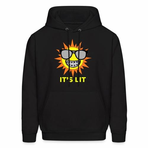 Nerdy LIt Sun - Men's Hoodie