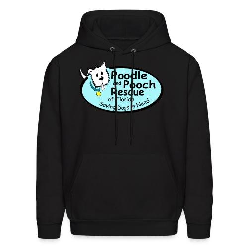 Poodle and Pooch Logo - Men's Hoodie