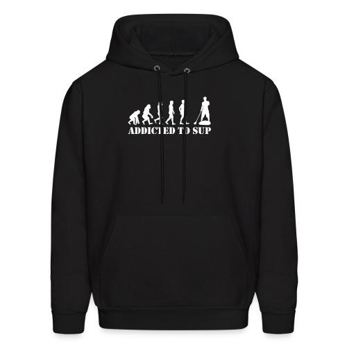 EvolutionAddictedtoSUPWhite - Men's Hoodie
