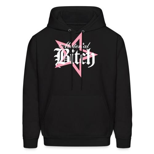 Material Bitch Logo - Men's Hoodie