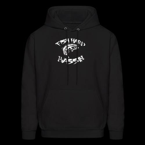 Fish Hard Logo - Men's Hoodie