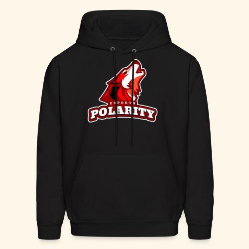 Red Polarity Logo - Men's Hoodie