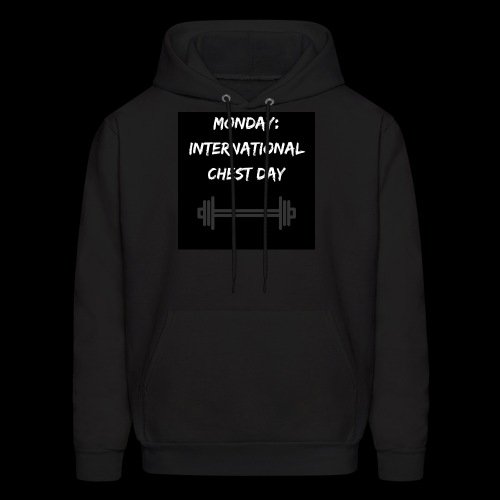 International chest day - Men's Hoodie