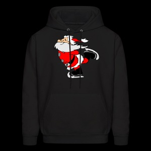 Santa Skating - Men's Hoodie