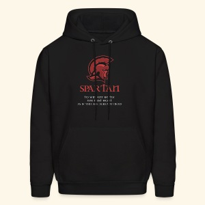American Spartan Apparel - Fight to the death - Men's Hoodie