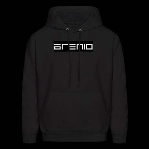 Arenio banner type logo - Men's Hoodie