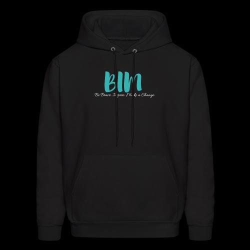 BIM Turquoise/Black - Men's Hoodie