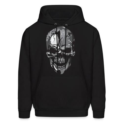 Silver Skull - Men's Hoodie