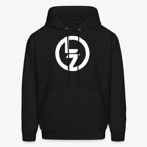 White LZ Logo - Men's Hoodie