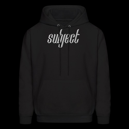 Standard Subject Logo - Men's Hoodie