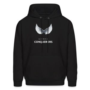 what we r is conquerors black line - Men's Hoodie