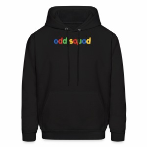 Odd squad colorful letters - Men's Hoodie