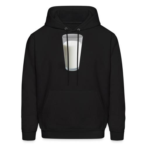 Milk On Shirt - Men's Hoodie
