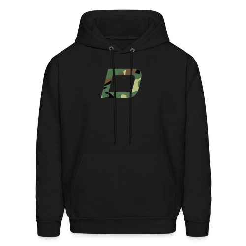 DawN Gaming Camo Logo - Men's Hoodie