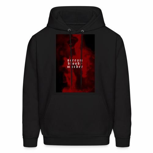 scream bloody murder - Men's Hoodie