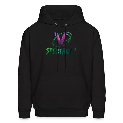 SpectrumV Logo - Men's Hoodie