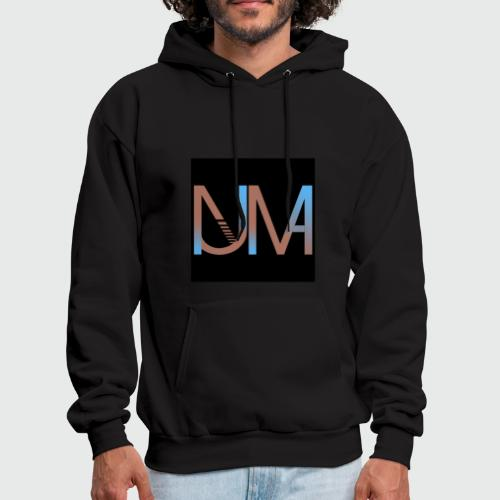 Numa Logo black background - Men's Hoodie