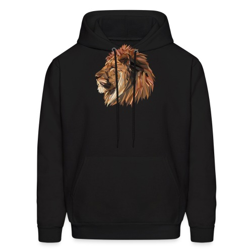 Abstract Lion - Men's Hoodie