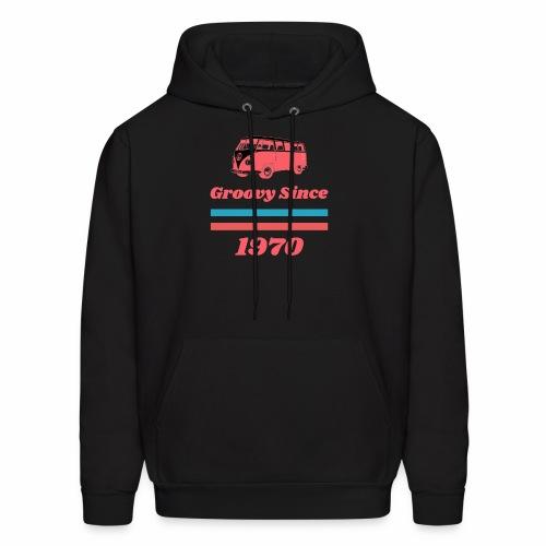 Groovy Since 1970 - Men's Hoodie
