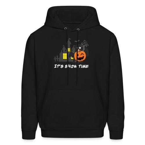 funny pumpkin constume, happy halloween day - Men's Hoodie