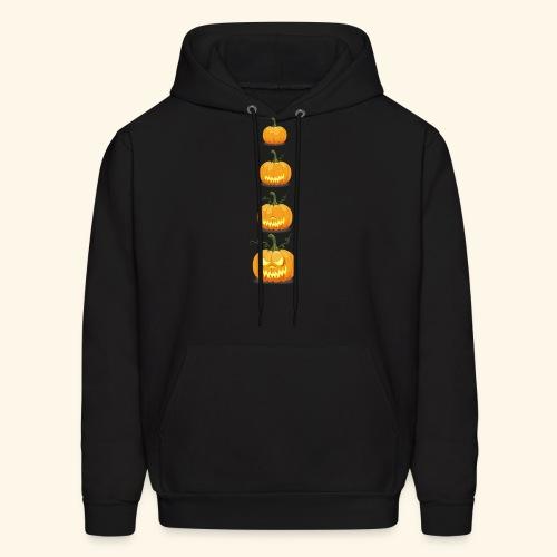 halloween pumpkin - Men's Hoodie