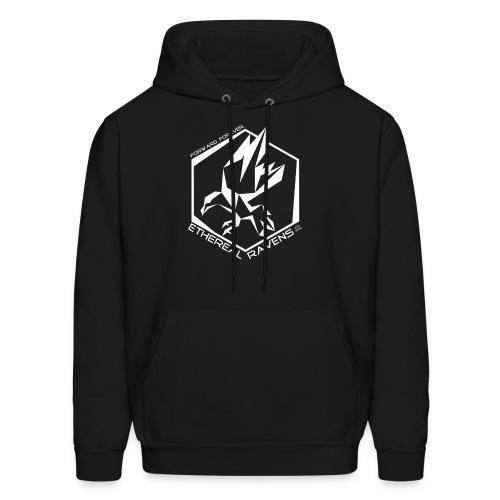 ER - White Logo - Men's Hoodie