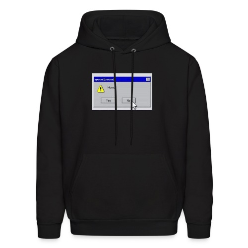 No offense though - Men's Hoodie
