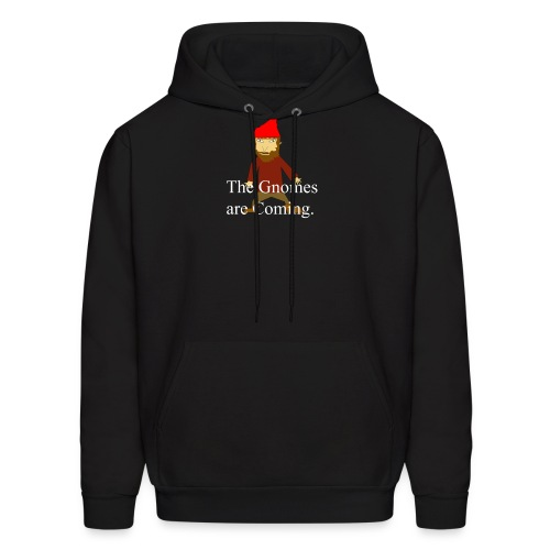 the gnomes are coming - Men's Hoodie
