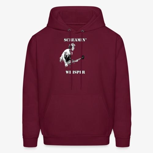 Screamin' Whisper Filth Design - Men's Hoodie