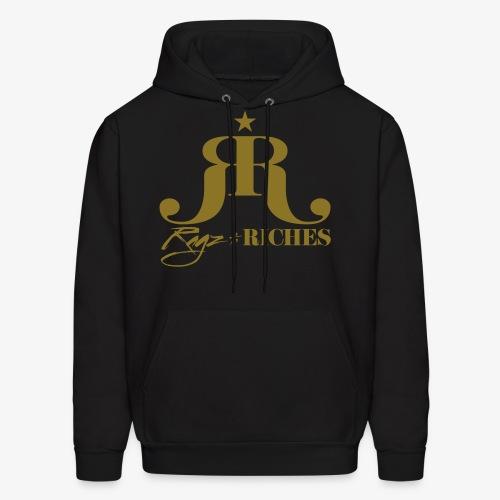 Ragz 2 Riches Movement Logo - Men's Hoodie