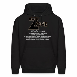 in the zone definition 3 - Men's Hoodie
