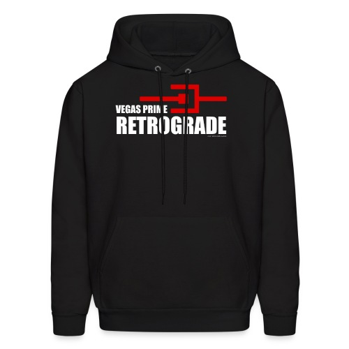 Vegas Prime Retrograde - Title and Hack Symbol - Men's Hoodie