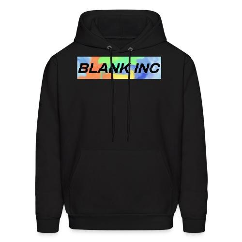 BlankInc BoxLogo (Off-Center Splat) - Men's Hoodie