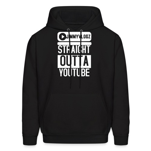 Straight Outta YouTube Merch! - Men's Hoodie