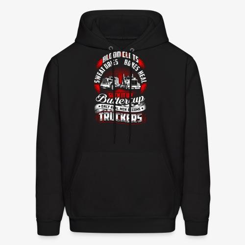 SUCK IT UP TRUCKERS - Men's Hoodie