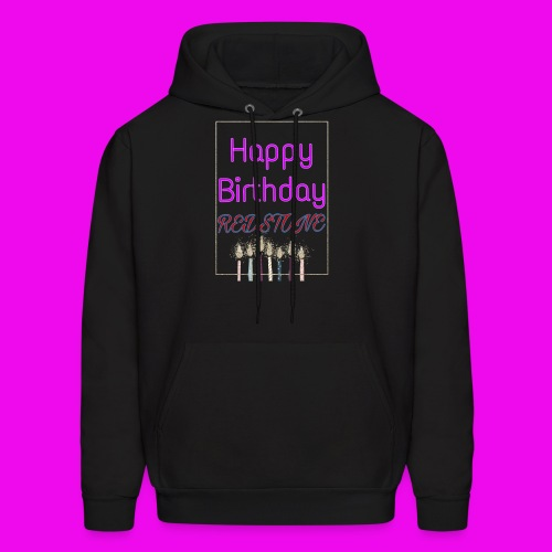 Happy 11th Birthday Logo - Men's Hoodie