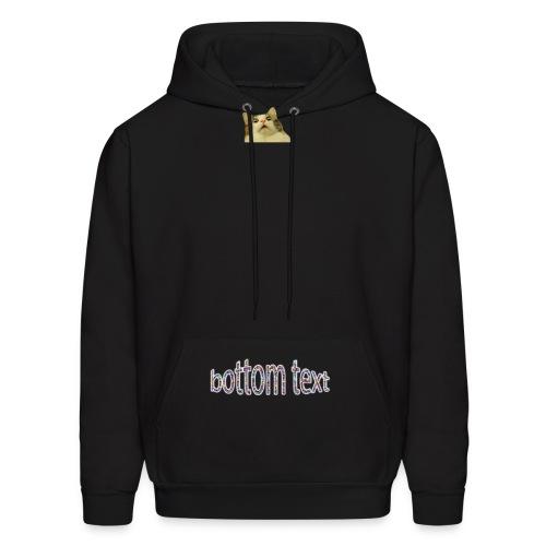 bottomtext - Men's Hoodie