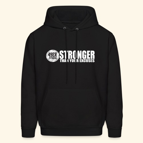 strongerblack - Men's Hoodie