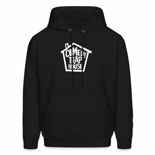 Comedy Trap House (white logo) - Men's Hoodie
