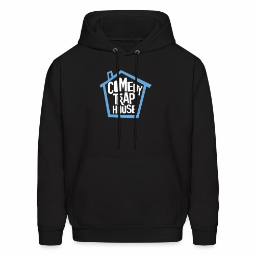 Comedy Trap House (Blue) - Men's Hoodie