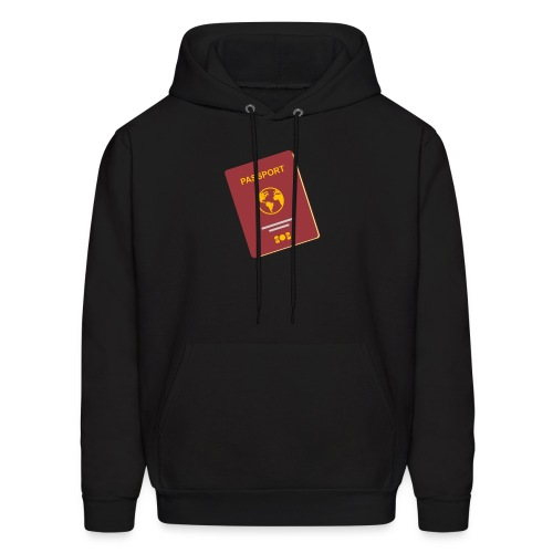 passport travel icon by Travel4hlidays - Men's Hoodie