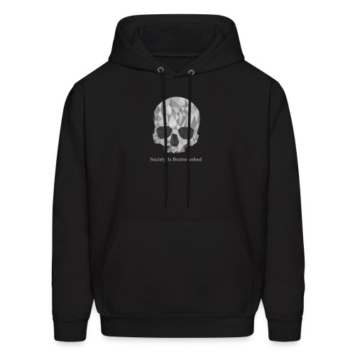 Society Is Brainwashed Logo - Men's Hoodie