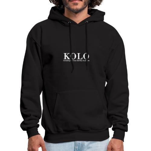 Kolo - Revealing the true identity of people - Men's Hoodie