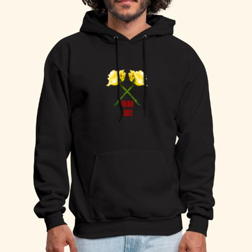 Golden Roses Logo Collection - Men's Hoodie