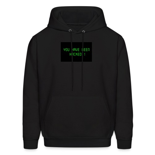 You have been hacked by dellySockx - Men's Hoodie