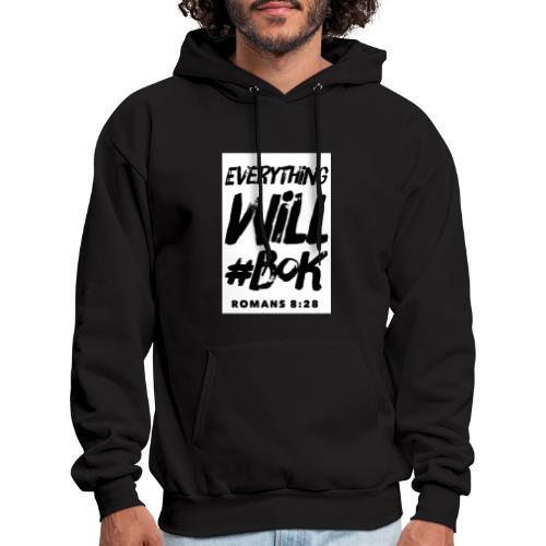 Everything Will #BOK (white) - Men's Hoodie